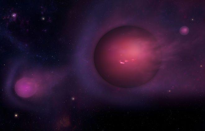 Black Holes Regurgitate 'Spitballs' After Devouring Stars