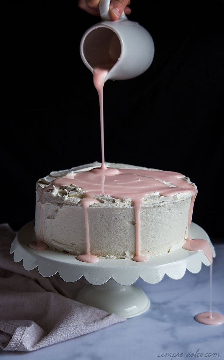 Grapefruit Cake with Marshmallow Buttercream on MyRecipeMagic.com