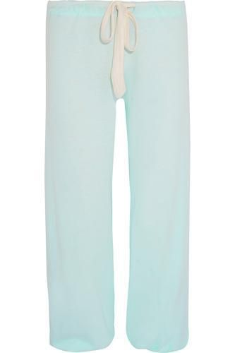 Heather jersey pajama pants #pants #offduty #covetme #eberjey