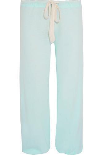 Heather jersey pajama pants #pants #offduty #covetme #eberjey