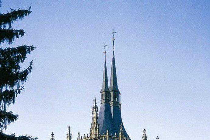 Kudy z nudy - Chrám sv. Barbory Kutná Hora - gotická památka UNESCO