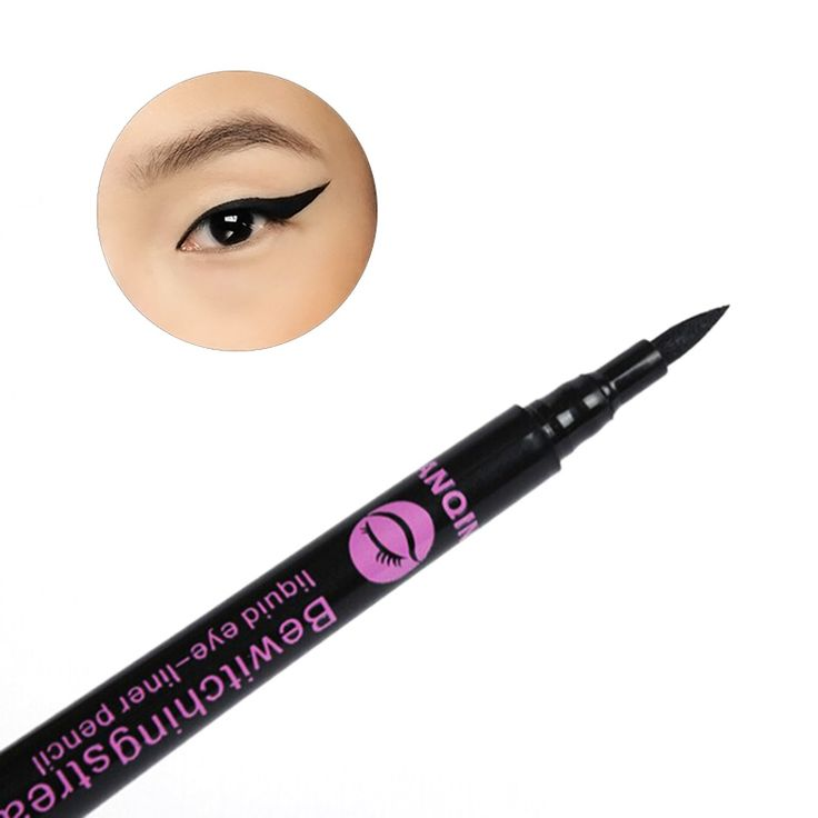 Newest 1Pc Waterproof Black Eyeliner Liquid Eye Liner Pencil Pen Makeup Comestics#M01171