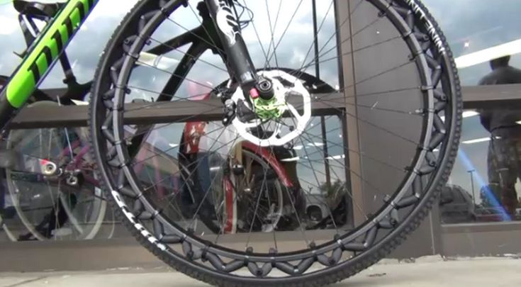 Fini les crevaisons avec cette roue de vélo sans chambre à air - Blog Déco Design.