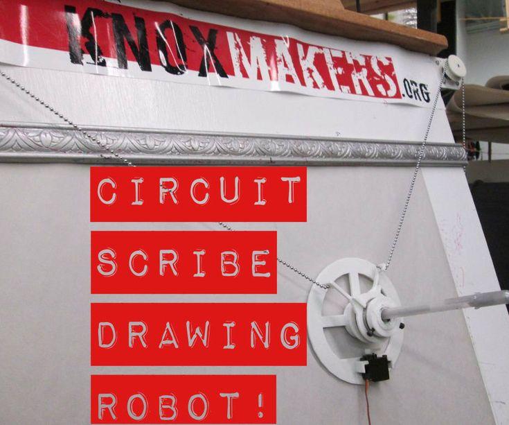 Circuit Scribe Drawing Robot