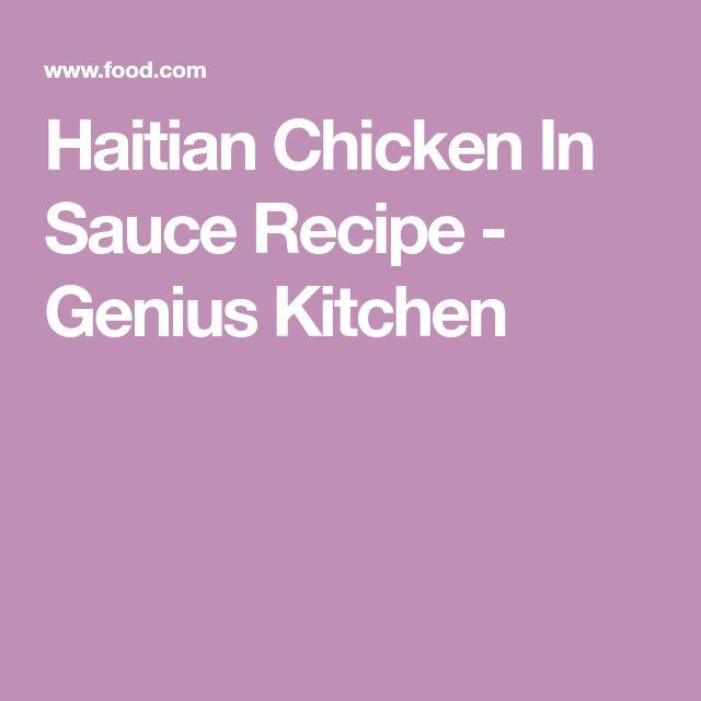 Haitian Chicken In Sauce Recipe - Genius Kitchen