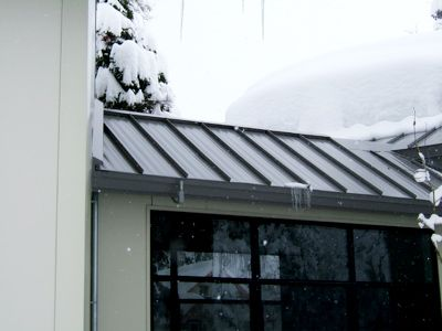 Elegant Our Invizimelt Panels Allow Our Tuff Cable Heating Element To Be Installed  Beneath Metal Roofing Surfaces For Effective Deicing.