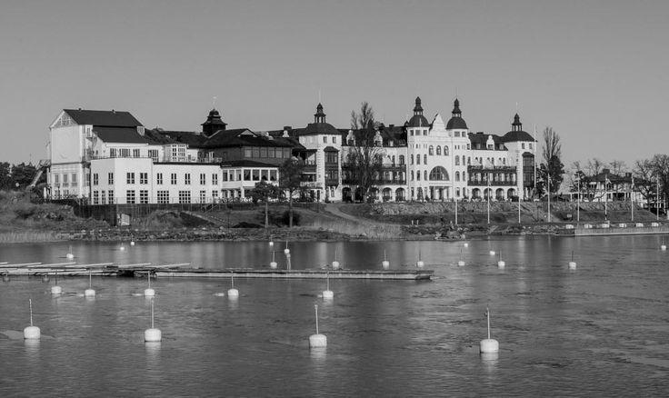 THE GRAND HOTEL OF SALTSJOBADEN / STOCKHOLM / SWEDEN... by Mike Back