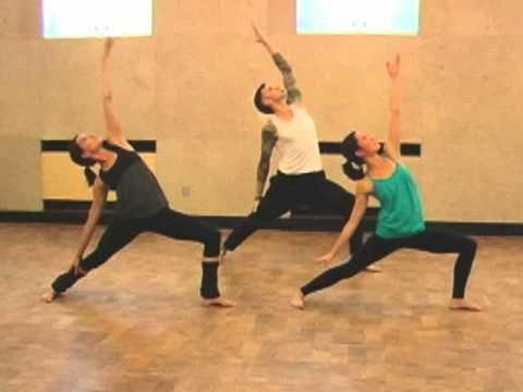 Hip-Hop Yoga.... really cool.