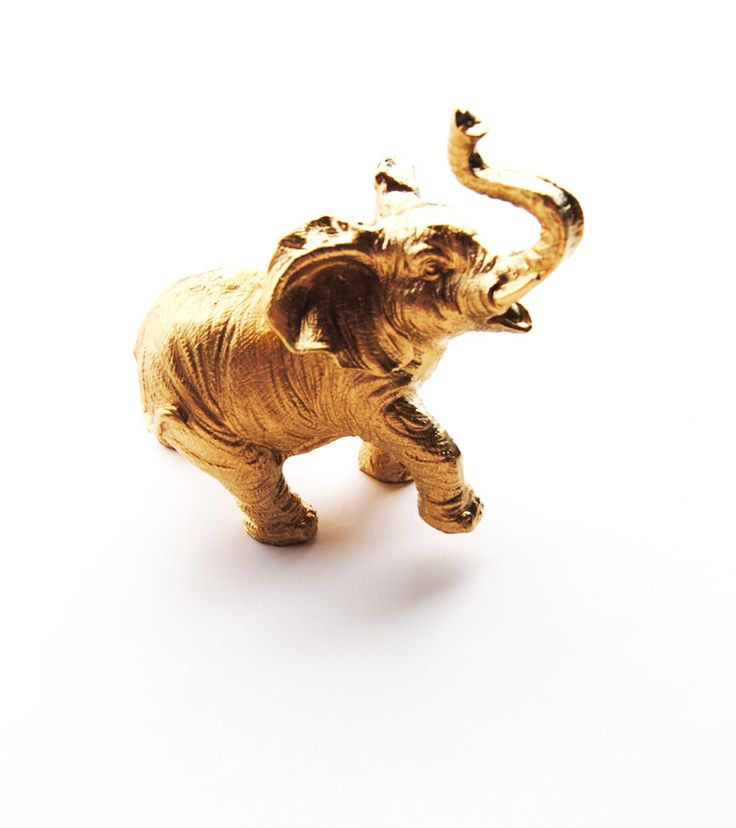 Apt. Decor!!  buying today. The Wilhelmina - Opulent Gold Table Top Elephant Decoration - Animal Statue - Faux Taxidermy.  via Etsy.