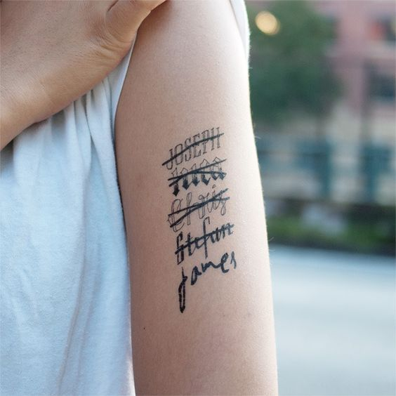 Cute Name Tattoos: 25 Uniquely Cute Tattoo Ideas For Girls That Are Just