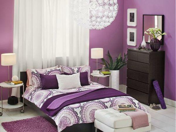 die besten 20+ lila schlafzimmer ideen auf pinterest - Deko Ideen Schlafzimmer Lila