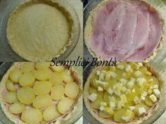 TORTA SALATA CON PROSCIUTTO E PATATE - ricetta gustosa