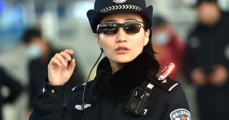 Chinese police are expanding facial recognition sunglasses program  ||  Police are using the sunglasses to check travelers. https://www.theverge.com/2018/3/12/17110636/china-police-facial-recognition-sunglasses-surveillance?utm_campaign=crowdfire&utm_content=crowdfire&utm_medium=social&utm_source=pinterest