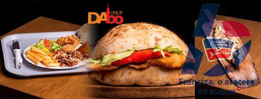 Dabo Doner reprezinta un nou concept in cadrul restaurantelor de tip fast-food, principiul care sta la baza activitatii este prepararea produselor la fata locului, in prezenta clientului (chifla, carnea pentru kebab, salatele, sosurile).