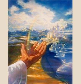 Ron DiCianni ~ Welcome Home: Ron Dicianni, Christian Art, Welcome Home, Feelings God, Artists Ron, Homes, Beautiful Artworks, Dicianni Art, Heavens