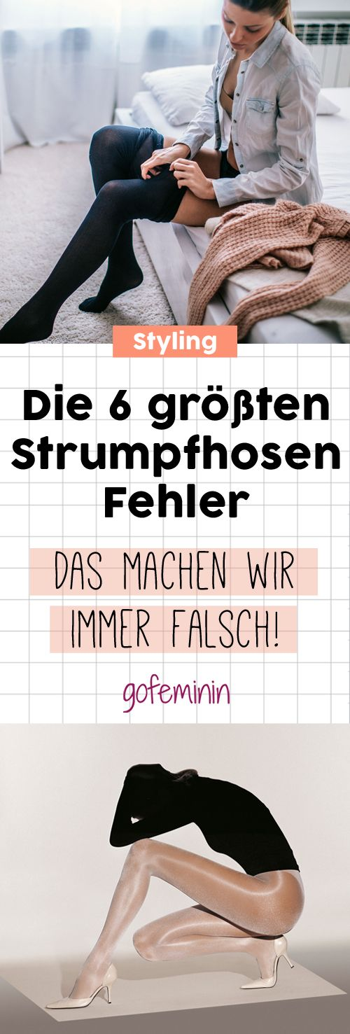 Vorsicht, Styling-Falle: DIESE Strumpfhosen-Fehler machen wir täglich!