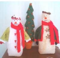 Chenille Snowman Patchwork Pattern from busy thimbles