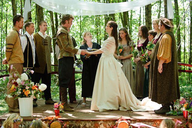 medieval wedding ceremony - 640×426