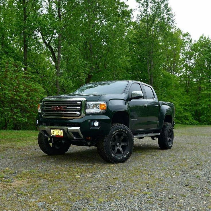 Lifted Gmc Canyon >> 2015 GMC Canyon lifted. | CARS | Pinterest