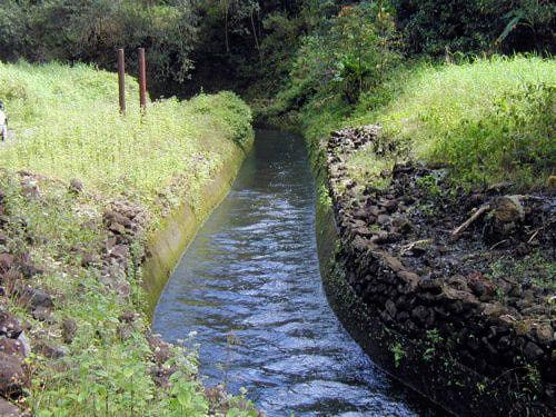 East Maui Irrigation Company Ditch along the Road to Hana