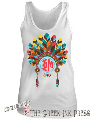 66 best custom sorority tank tops images on pinterest