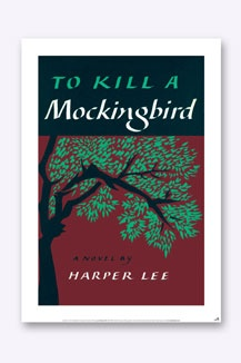 Bookish Desisns To Kill A Mockingbird Poster