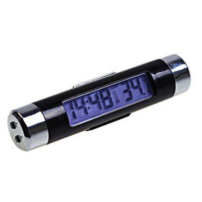 Hoy con el 53% de descuento. Llévalo por solo $18,000.Respiradero del coche del termómetro del reloj digital.