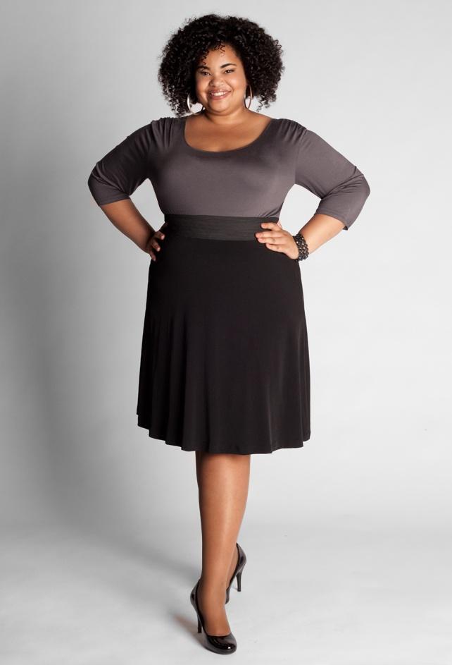 High Waisted A Line Skirt 25