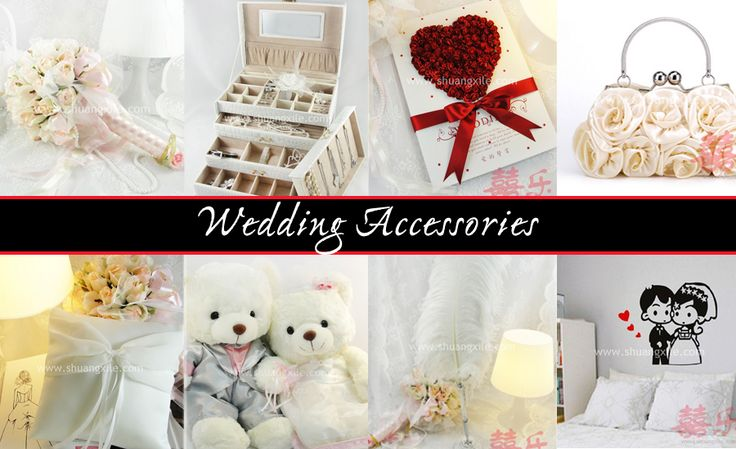 Wedding Accessories by Shuang Xi Le