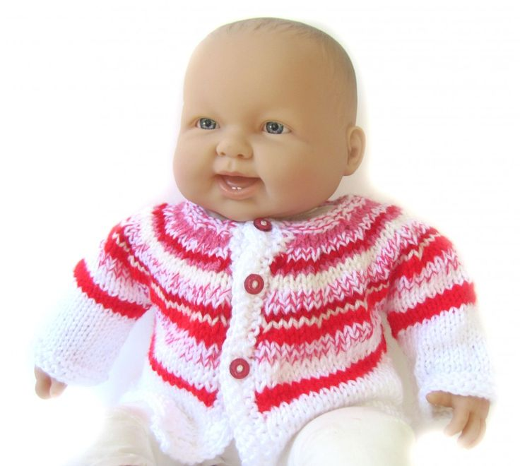 KSS Red/White Stripe Sweater/Cardigan (6 - 9 Months) [KSS-SW-242] : KSStoys · Toys, Clothes & More · Kids Scandinavian Shop