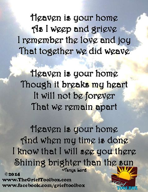 Missing My Husband In Heaven Poems