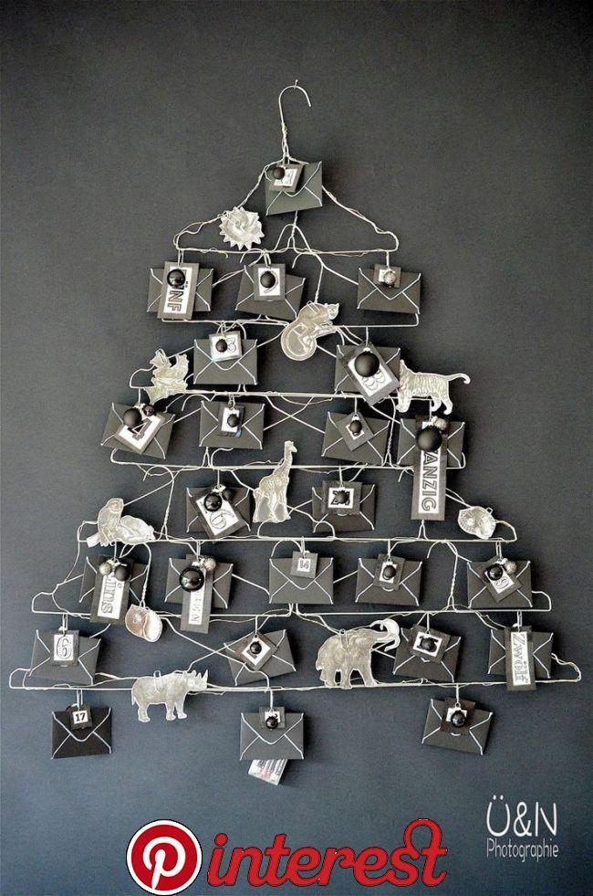 Wire – Adventdskalender aus Drahtkleiderbügeln und als ich die wilden Tiere zähmte (aus einem Buch ;-D)