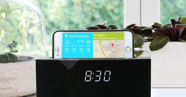 Smart Radio Alarm Clock Speaker with Smart Home Integration