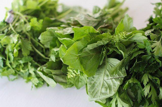 Parsley, basil and cilantro all make a tasty pesto sauce.
