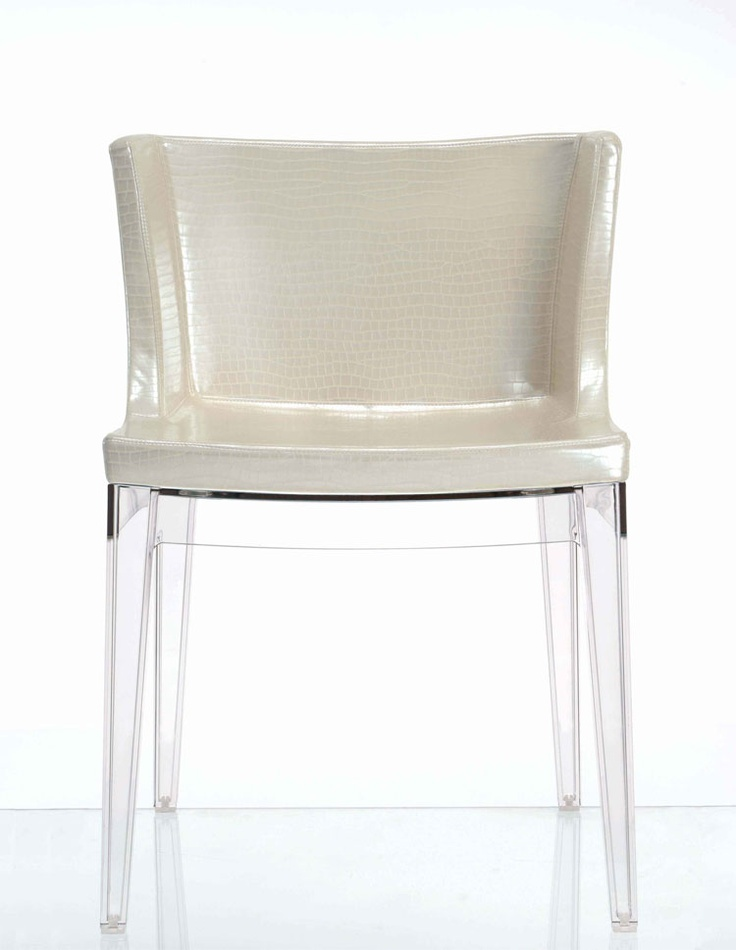 Kartell - Mademoiselle Chair in Crocodile Print