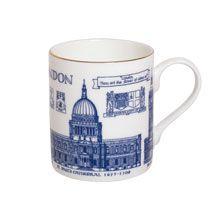 Becher 'London Heritage Collection'        bestellen - THE BRITISH SHOP - typisch englisches Produkt 'very british'
