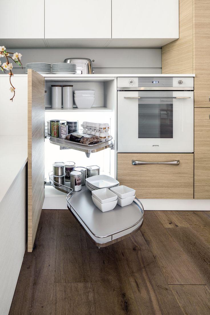 Arrex Le Cucine: che belli gli interni della cucina illuminati!