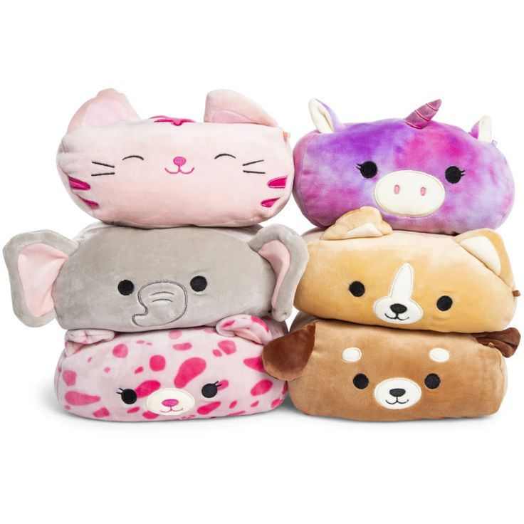 Squishmallows stackable critters latest collection