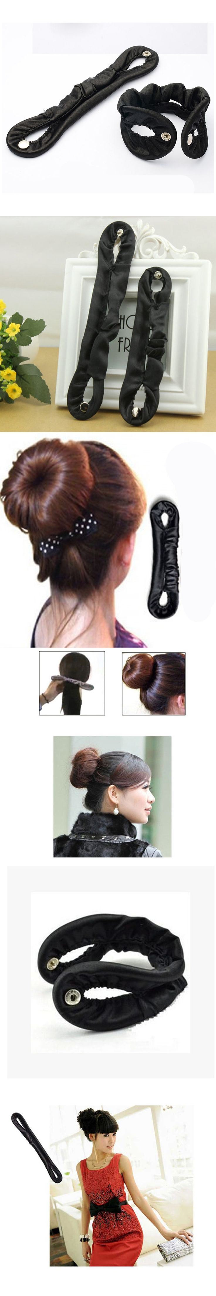 1pcs French Headdress Styling Magic Hair Sponge Foam Curler Maker Former Twist Tool Hair Accessories