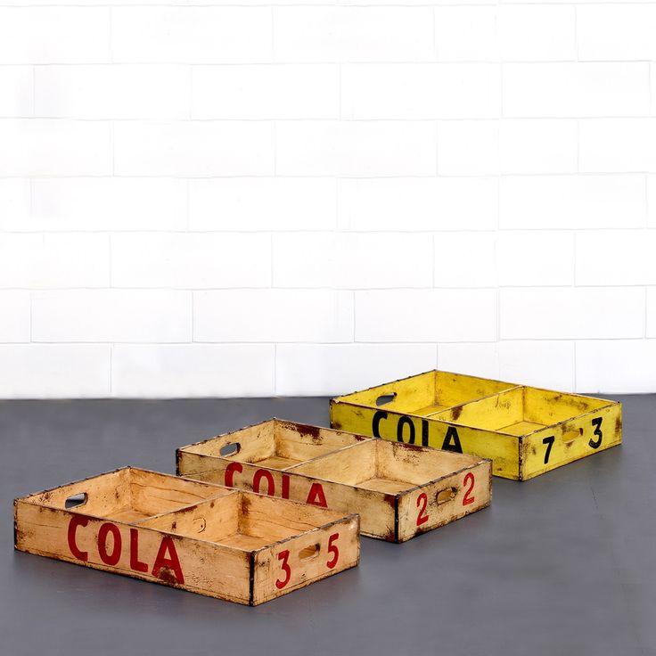 Buy Colin Wooden Trays Online | Storage Solutions - Retrojan