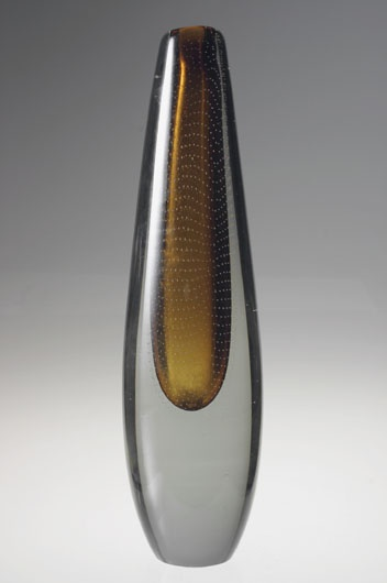 Gunnel Nyman Vases - Nyman, Gunnel.  Scandinavian glass was the first thing I started to collect..back in the 80's when nobody seemed to be able to see the beauty of simple form
