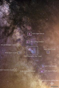 By Guillaume Doyen Messier Objects in Sagittarius Constellation