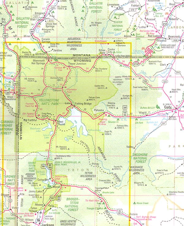 17 Best Images About Western States National Park RV Road