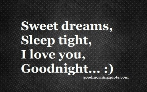I love you so much, my darling. :) Sleep well! Please try to think of wonderful things before you go to bed! Goodnight. <3 31:26