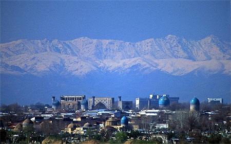 Panoramique sur Samarcande, au pied du PAMIR - Ouzbékistan - a DREAM !!!!!!!!