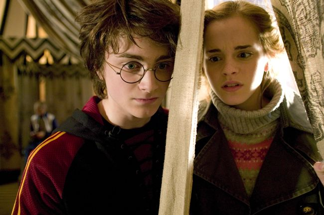 'All you have to do is focus' - (Hermoine) 'Then fight a DRAGON!' -  (Harry)