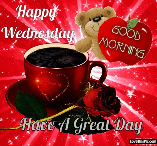 Happy Wednesday Have A Great Day