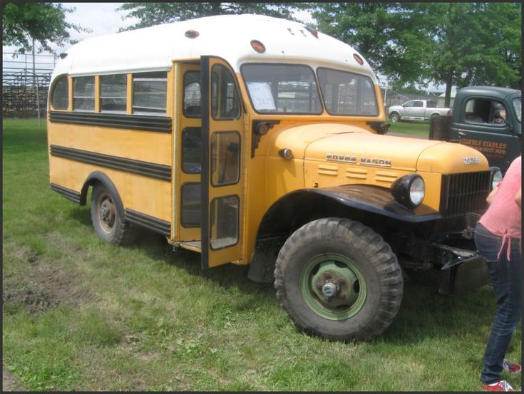 Power Wagon School Bus | DODGE POWER WAGONS | Pinterest ...