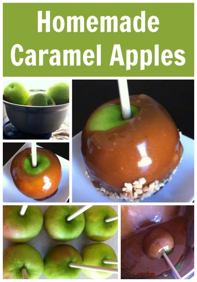 Homemade Caramel Apples Delicious and Easy