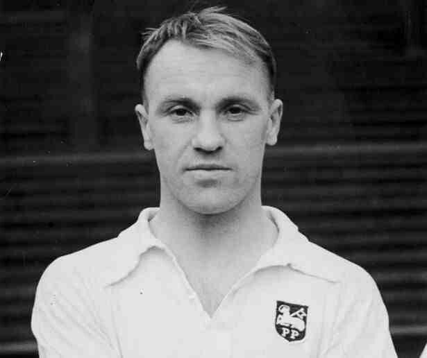 Bill Shankly of Preston North End in 1948.